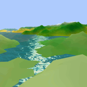 Terrain Generation with WebGL rendering