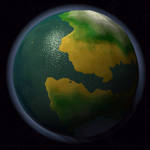 Planet Generation with WebGL Rendering